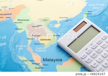 アジア 地図 48829167
