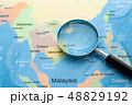 アジア 地図 48829192