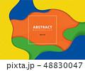 抽象的 バックグラウンド ベクタのイラスト 48830047