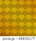 Art deco of circle pattern background. Presenting 48830177
