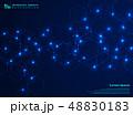 Abstract futuristic complex hexagon shape pattern 48830183