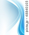 バックグラウンド 曲線 コピースペースのイラスト 48840103