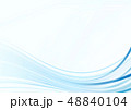 バックグラウンド 曲線 背景のイラスト 48840104