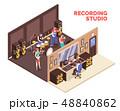 レコーディング アトリエ 工房のイラスト 48840862