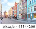 街 色とりどり グダニスクの写真 48844209