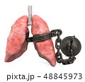 肺 チェーン 鎖のイラスト 48845973