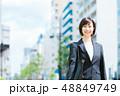 ビジネスウーマン 女の人 ビジネスマンの写真 48849749