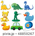 Set of children toys 48850267