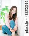女性 若い ヘアスタイルの写真 48852349