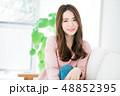 女性 若い ヘアスタイルの写真 48852395