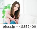 女性 若い ヘアスタイルの写真 48852400