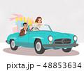 車 自動車 ドライブのイラスト 48853634