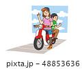 Vector - Funny vector cartoon colorfull boy and girl, retro style illustration. 005 48853636