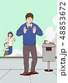 紙巻タバコ タバコ たばこのイラスト 48853672