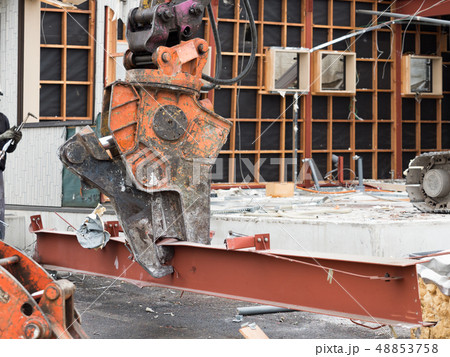 建物の解体工事 48853758