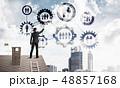 ネットワーク 通信 建築の写真 48857168