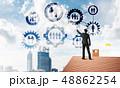ネットワーク 通信 建築の写真 48862254