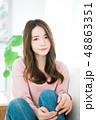 女性 若い ヘアスタイルの写真 48863351