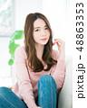 女性 若い ヘアスタイルの写真 48863353