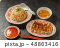 チャーハン 炒飯 ご飯の写真 48863416