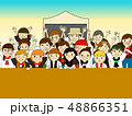野外音楽フェス最前列 48866351