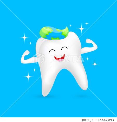 World oral health day icon design. 48867093