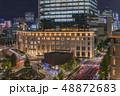 日本郵便局が採用したKITTE商業施設棟の夜景撮影。 48872683