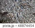 府中駅付近を空撮 48874454