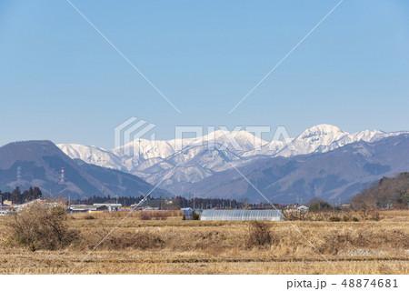 蔵王山と釜房湖 48874681