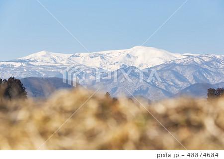 蔵王山と釜房湖 48874684