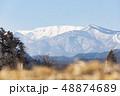 蔵王山と釜房湖 48874689
