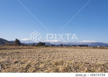 蔵王山と釜房湖 48874709