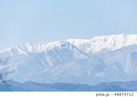 蔵王山と釜房湖 48874712