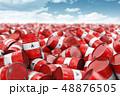 工業 樽 バレルのイラスト 48876505