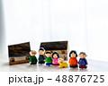 人形 家族 大家族の写真 48876725