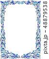 アートフレーム(青) 48879538