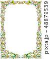 アートフレーム(黄緑) 48879539