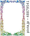 アートフレーム(カラーグラデーション) 48879541