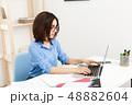 キャリアウーマン ビジネスウーマン 女性実業家の写真 48882604