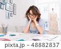デザイン 柄 女性の写真 48882837