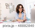 デザイン 柄 女性の写真 48882840