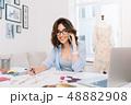 デザイン 柄 女性の写真 48882908