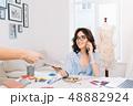 デザイン 柄 女性の写真 48882924