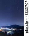 冬の大三角形_富士山 48883707