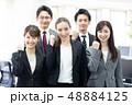 女性 人物 ビジネスの写真 48884125