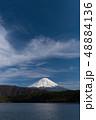 西湖湖畔からの富士山 48884136