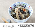 ひじきの煮物 48885079