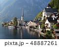 オーストリアの ハルシュタット 湖 48887261