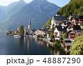 オーストリアの ハルシュタット 湖 48887290