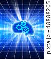 AI 人工知能 人工頭脳 テクノロジー データ解析 電脳 最先端技術 進歩 48888205